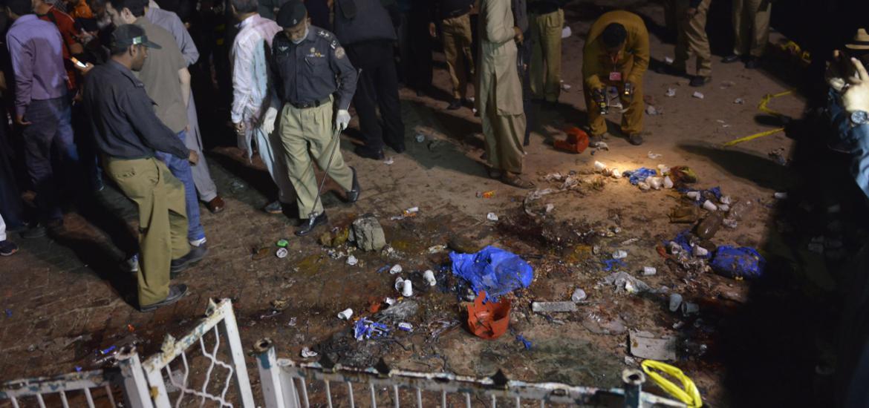 Au moins 70 morts et 340 blessées dans l'attentat de Lahore