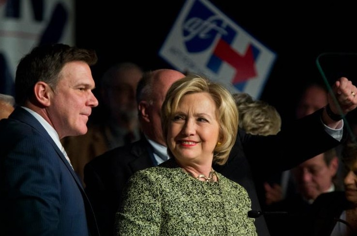 Maison Blanche: les hommes, défi d'Hillary pour briser le plafond de verre