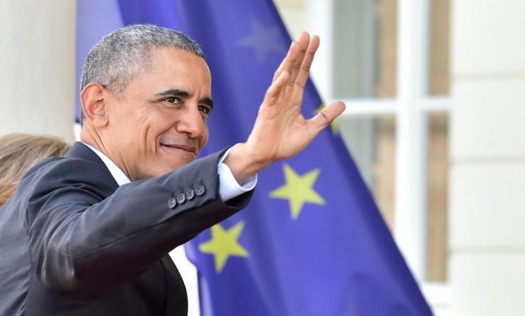 Obama en Allemagne: crises européennes au menu d'un mini-sommet