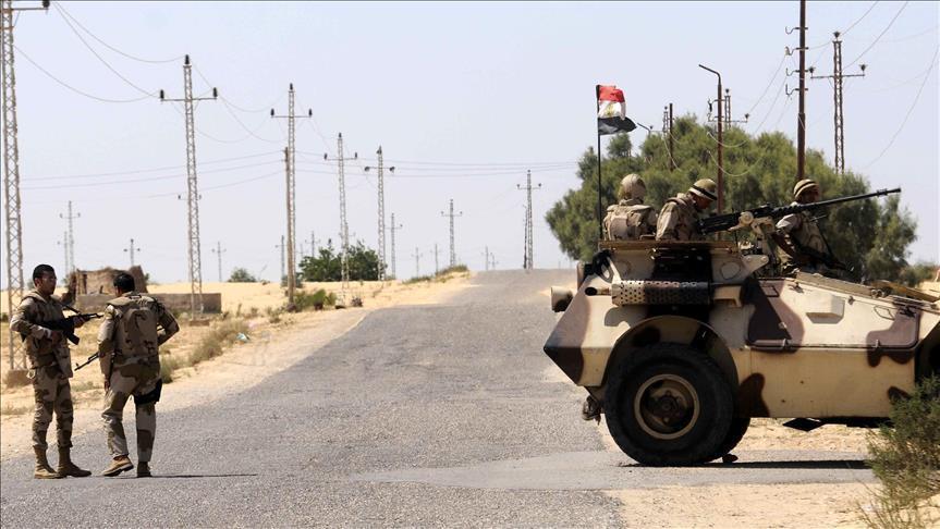 Egypte – Onze éléments armés éliminés dans le Nord-Sinaï