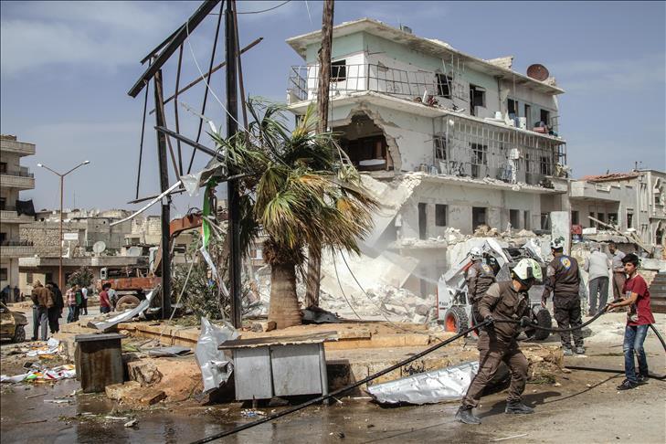 Syrie : 15 civils tués dans un raid du régime d'al-Assad à Idleb