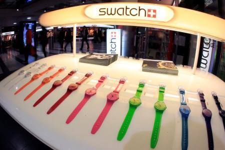 Swatch Group avertit sur ses résultats semestriels en baisse