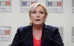 """Marine Le Pen dénonce une """"fatwa bancaire"""" contre le FN"""