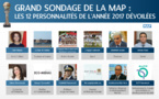 Grand sondage de la MAP : les 12 personnalités de l'année 2017 dévoilées