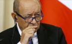 Le Drian qualifie la situation de « très dangereuse » au Moyen-Orient