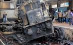 Accident de train à la gare centrale du Caire : 20 morts, 43 blessés