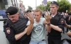 Navalny et plus de 200 manifestants interpellés à Moscou