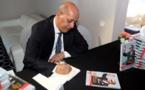 """Présentation à Rabat du livre """"Maroc et Afrique: Vision d'un Roi"""" du journaliste mauritanien Abdallah Oueld Mhamdi"""