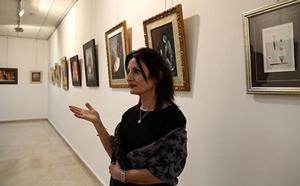 Vernissage à Fès de l'exposition ''fragments'' de l'artiste Anissa Tber